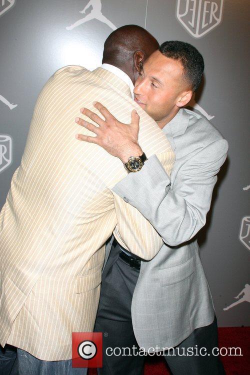 Michael Jordan and Derek Jeter Celebrities and Athletes...
