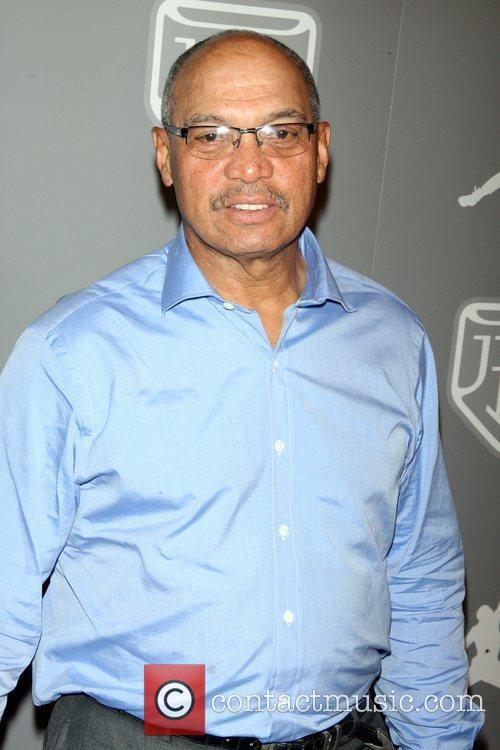 Reggie Jackson Celebrities and Athletes Celebrate Derek Jeter...