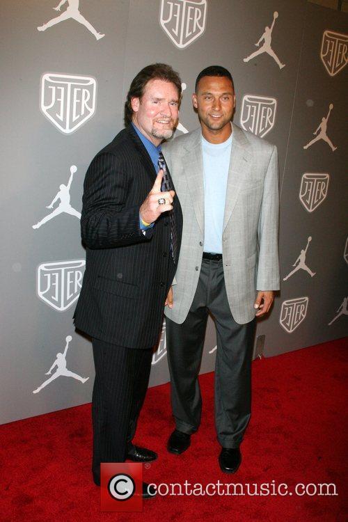 Wade Boggs and Derek Jeter Celebrities and Athletes...