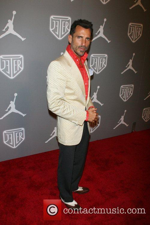 Waz Stevens Celebrities and Athletes Celebrate Derek Jeter...