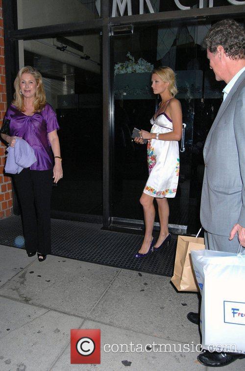 Paris Hilton, Rick Hilton, Kathy Hilton Paris Hilton...