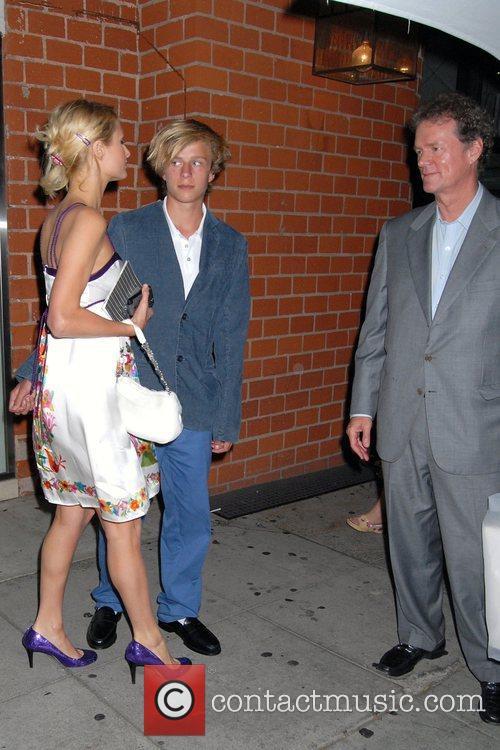 Paris Hilton, brother Conrad Hughes Hilton, Rick Hilton...