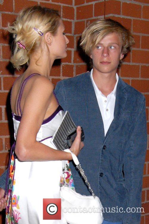 Paris Hilton and brother Conrad Hughes Hilton Paris...