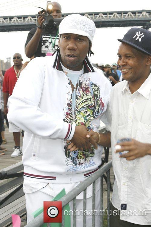 Krs-one and Congressional Candidate Kevin Powell 3
