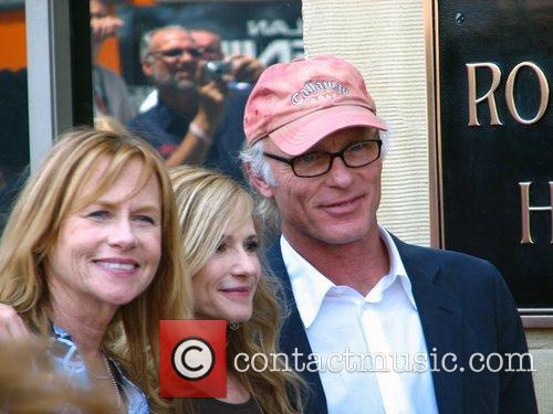 Holly Hunter and Ed Harris