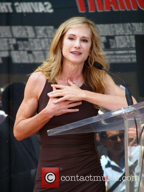 Holly Hunter Holly Hunter is honored with a...