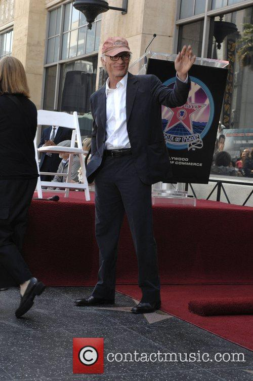 Ed Harris Holly Hunter is honored with a...