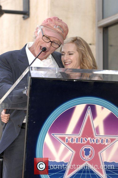 Holly Hunter is honored with a star on...