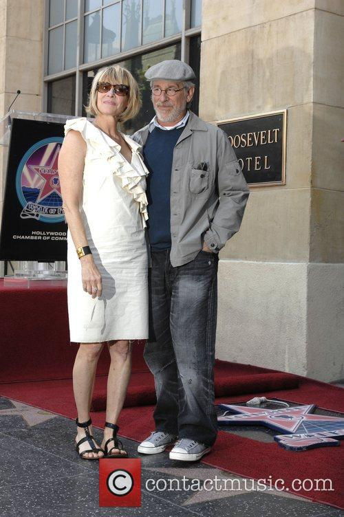 Steven Spielberg and Kate Capshaw 1