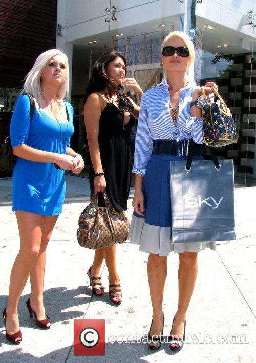 Guests and Holly Madison 'The Girls Next Door'...
