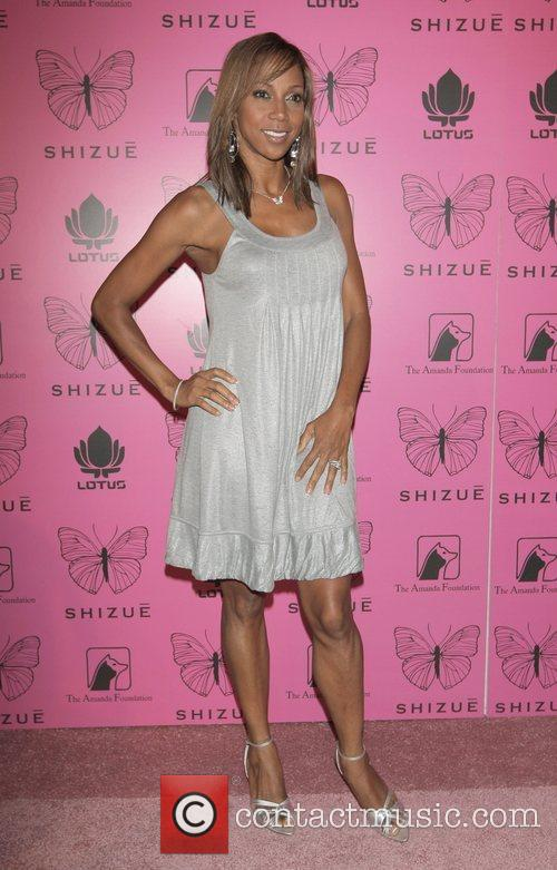 Holly Robertson Peete at the launch party for...