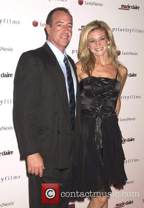 Michael Lohan and Erin Muller Marie Claire hosts...