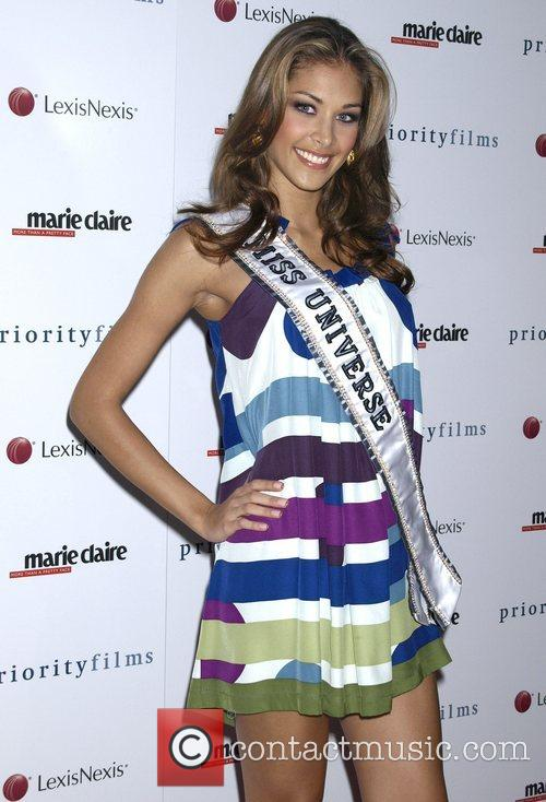 Miss Universe Dayana Mendoza Marie Claire hosts the...