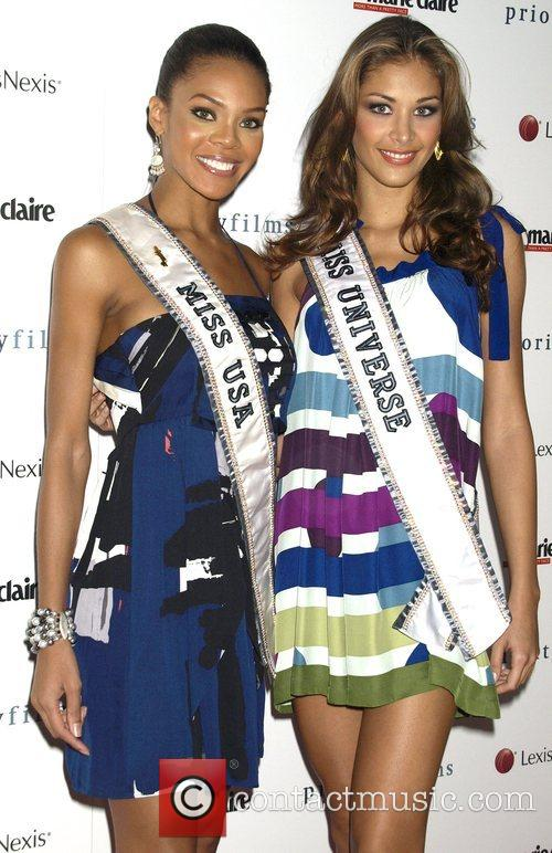 Miss USA Crystle Stewart and Miss Universe Dayana...