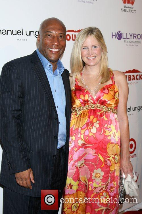 Bryon Allen with his wife Jennifer Lucas HollyRod...