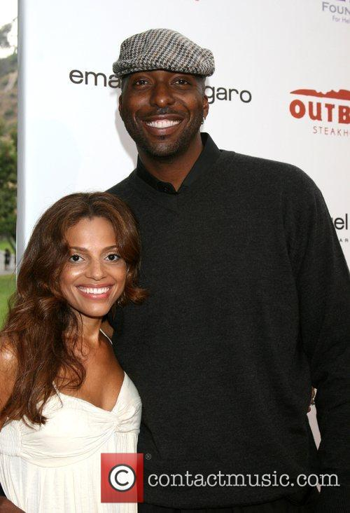 John Salley and guest HollyRod Foundation DesignCare Event...