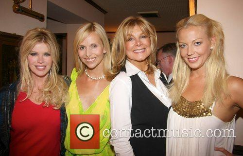 Cindy Jackson, Anneka Svenska, Jilly Johnson and Liz...