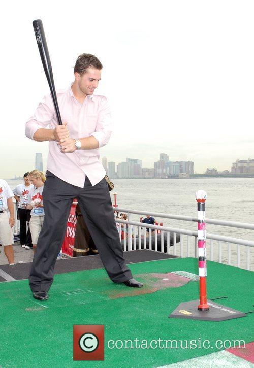 NY Mets' David Wright participates in Vitamin Water's...