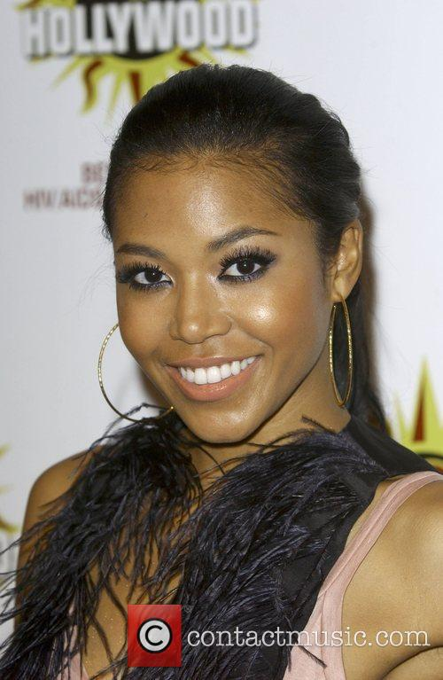 Amerie Rogers at the 3rd annual Hot In...