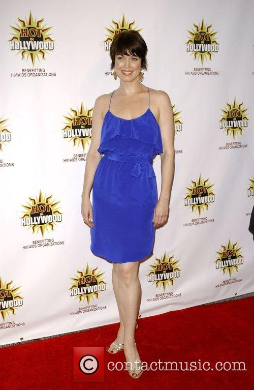 Bellamy Young at the 3rd annual Hot In...