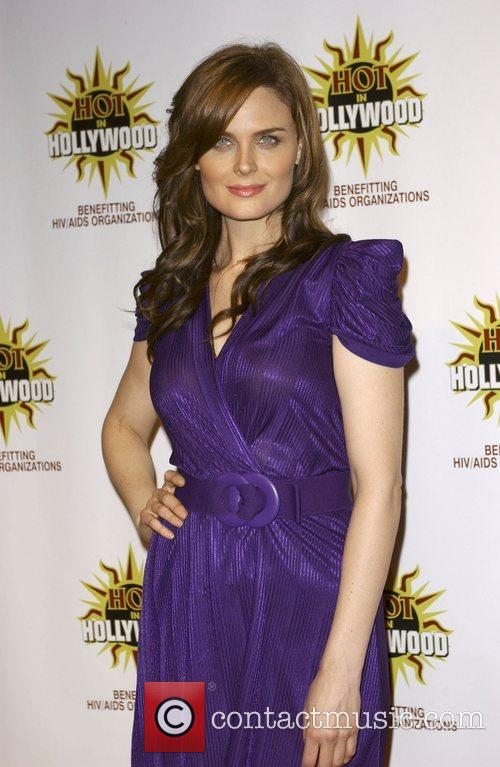 Emily Deschanel at the 3rd annual Hot In...