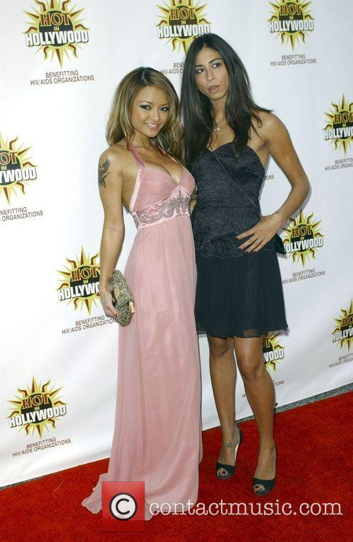 Tila Tequila and Courtenay Semel at the 3rd...