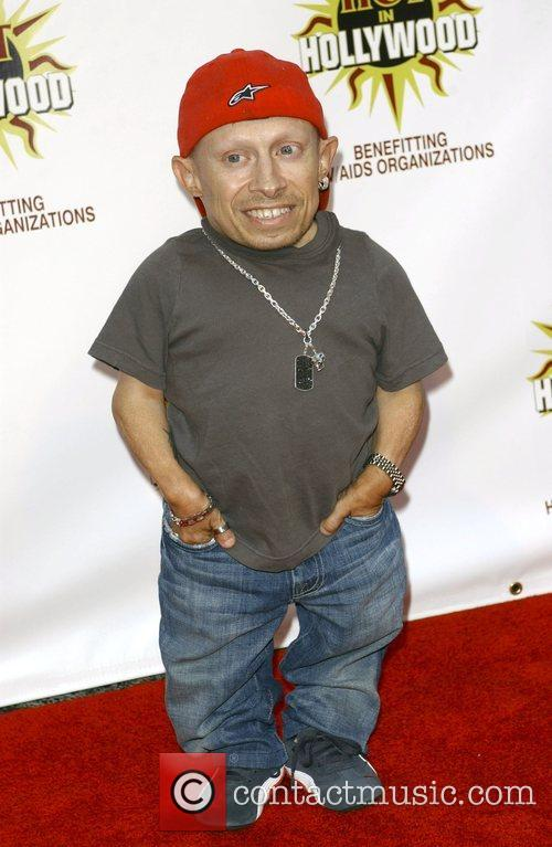 Verne Troyer at the 3rd annual Hot In...