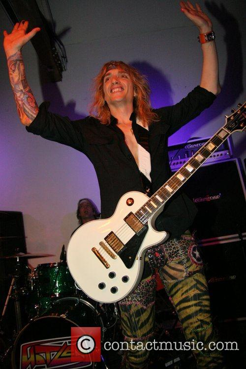 Justin Hawkins performs with his new band Hot...