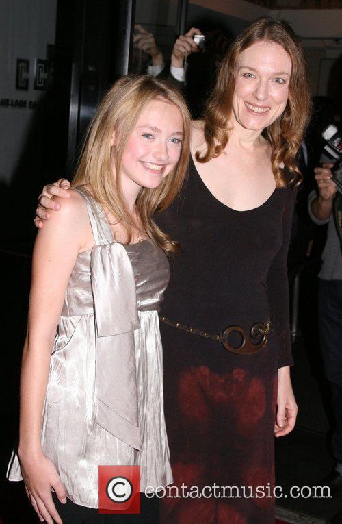 Dakota Fanning and director Deborah Kampmeier New York...
