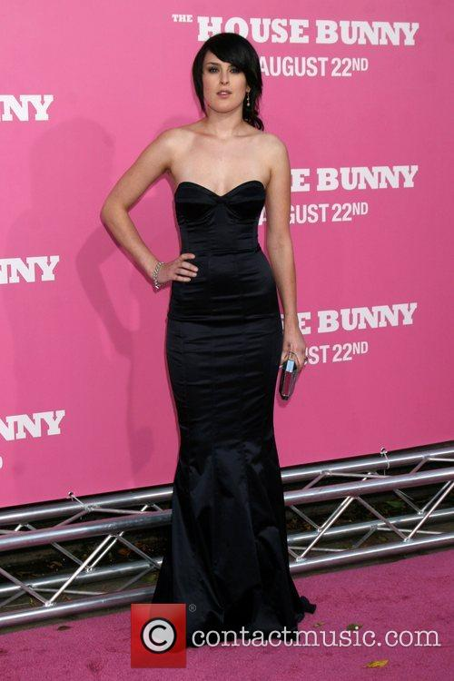 Rumer Willis Premiere of 'The House Bunny' at...