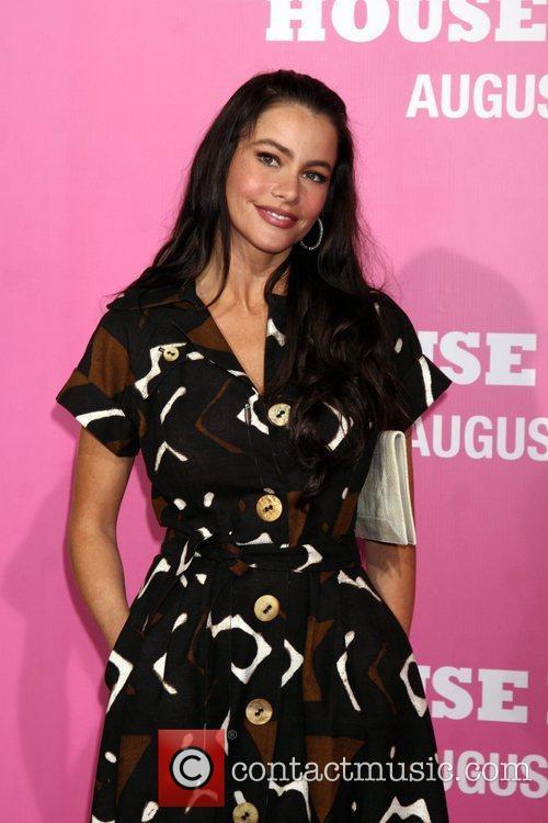 Sofia Vergara Premiere of 'The House Bunny' at...
