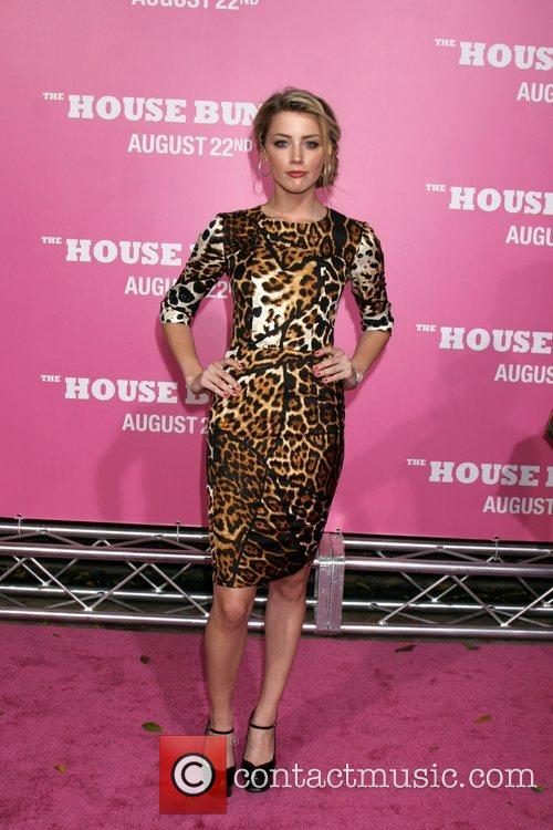 Amber Heard Premiere of 'The House Bunny' at...
