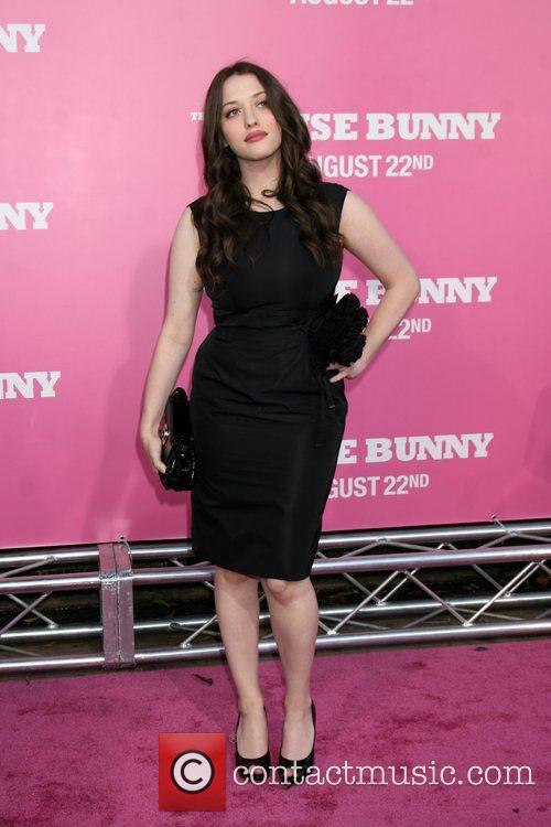 Kat Dennings Premiere of 'The House Bunny' at...