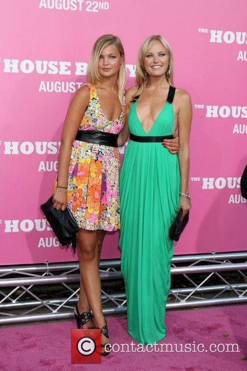 Malin Ackerman and Guest Premiere of 'The House...