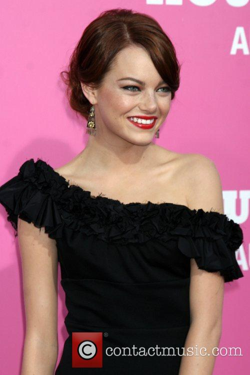 Emma Stone Premiere of 'The House Bunny' at...