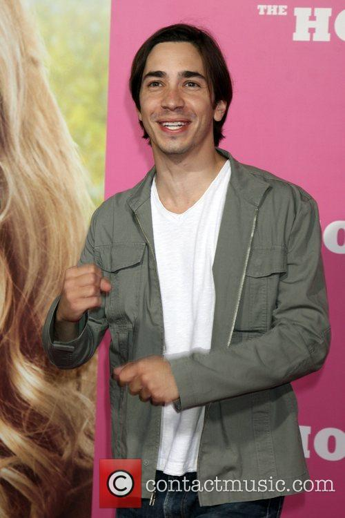 Justin Long Premiere of 'The House Bunny' at...