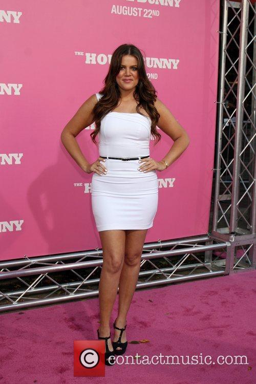 Khloe Kardashian Premiere of 'The House Bunny' at...