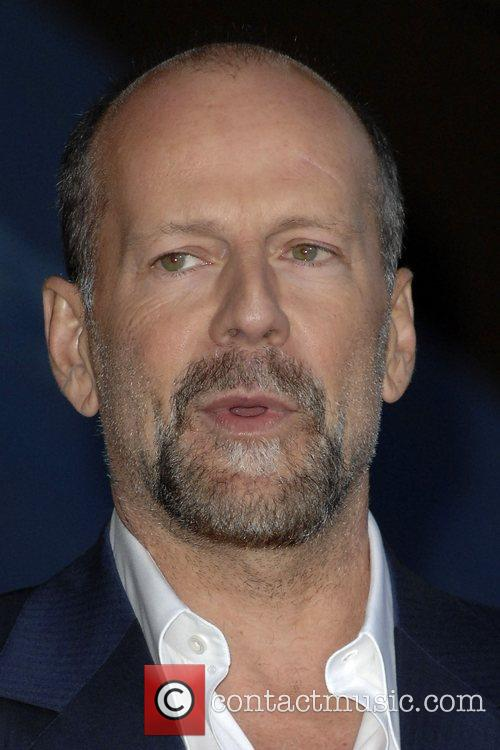 Bruce Willis Premiere of 'The House Bunny' at...