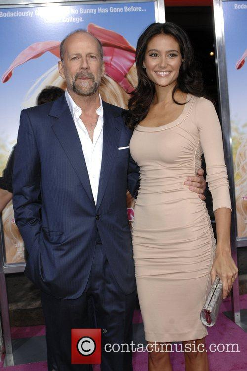 Bruce Willis and Emma Herring Premiere of 'The...