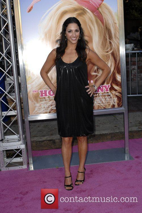 Julia Wolov Premiere of 'The House Bunny' at...