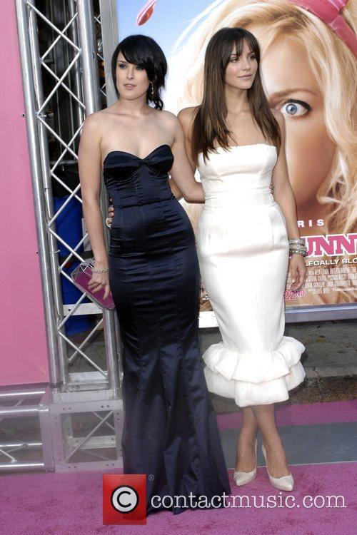 Rumer Willis and Katherine McPhee Premiere of 'The...