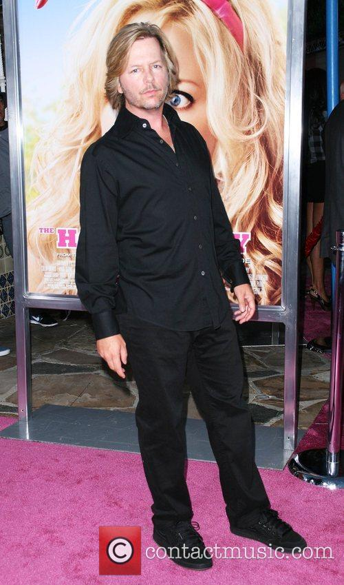 David Spade Premiere of 'House Bunny' at the...