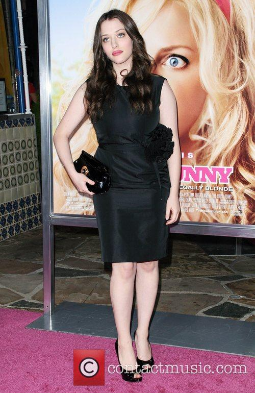 Kat Dennings Premiere of 'House Bunny' at the...