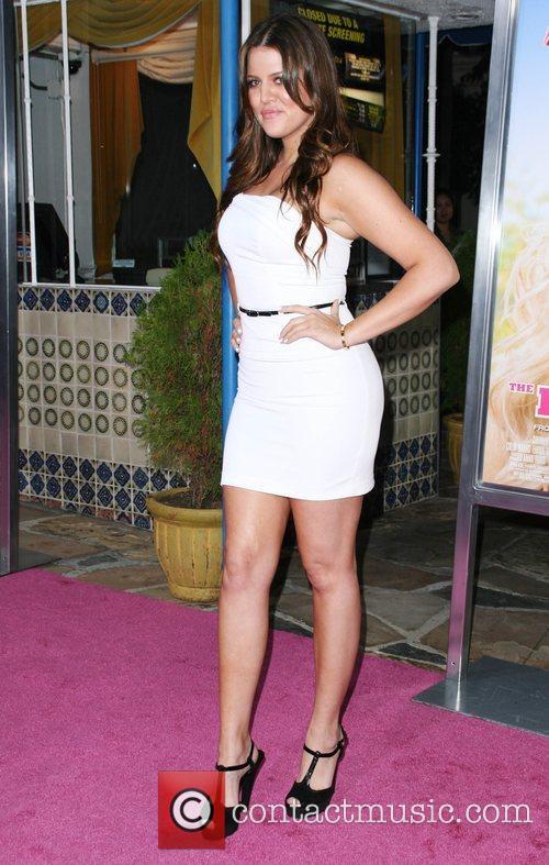 Khloe Kardashian Premiere of 'House Bunny' at the...