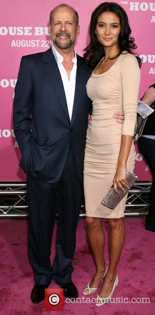 Bruce Willis and Emma Heming  Premiere of...
