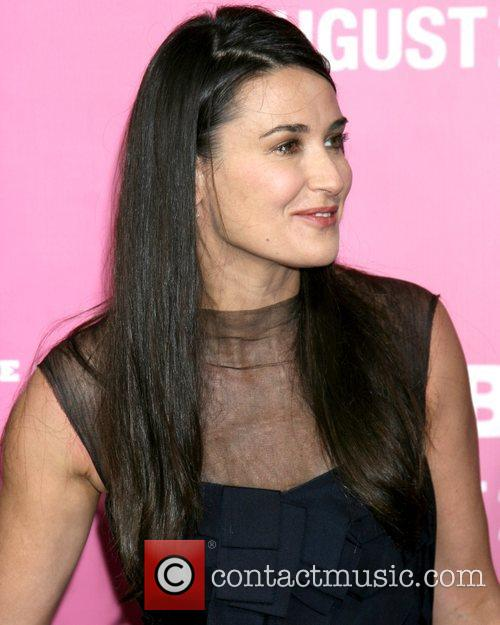 Demi Moore  Premiere of 'The House Bunny'...