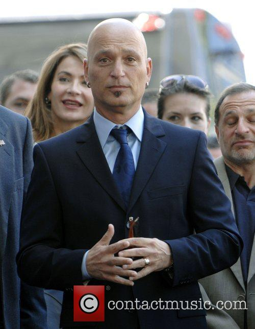 Howie Mandel  is honored with a star...