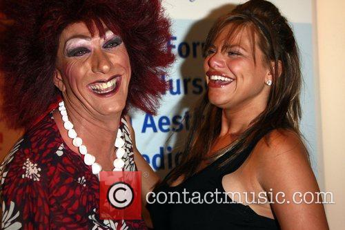 Gabbi and Jade Goody HumanHi Botox themed party...