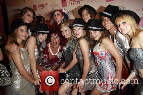 Gabbi and Guests HumanHi Botox themed party held...