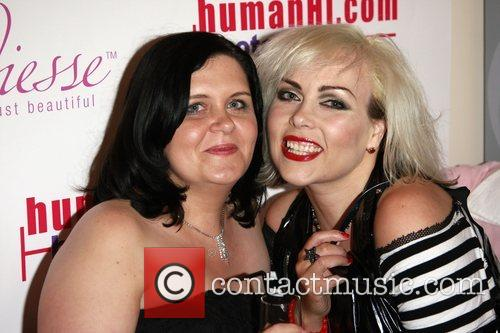 Guests HumanHi Botox themed party held at The...